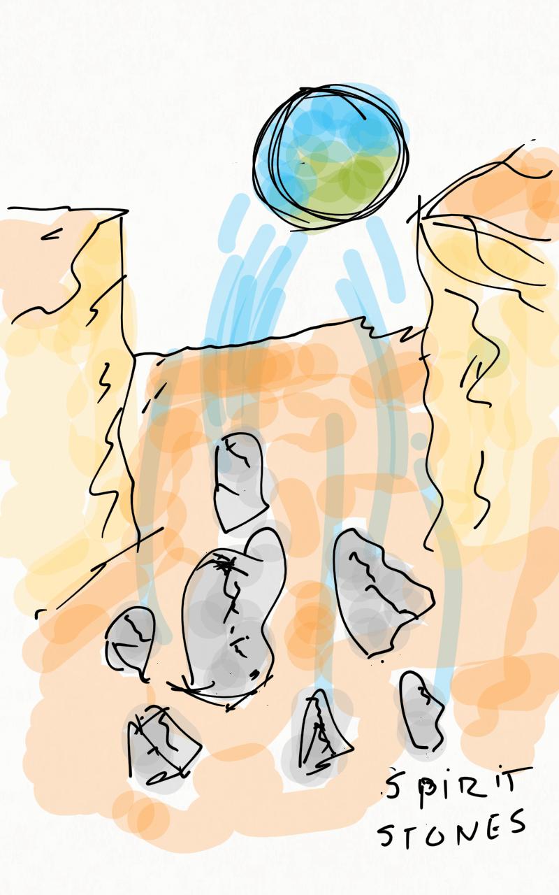 Piedras creadas por Marte con la capacidad de atrapar almas. Alguna de ellas fueron rotas y muchas almas pudieron continuar su proceso de encarnación en otros mundos.