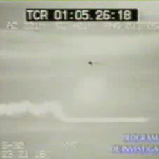 Ovni es perseguido por Avion Militar